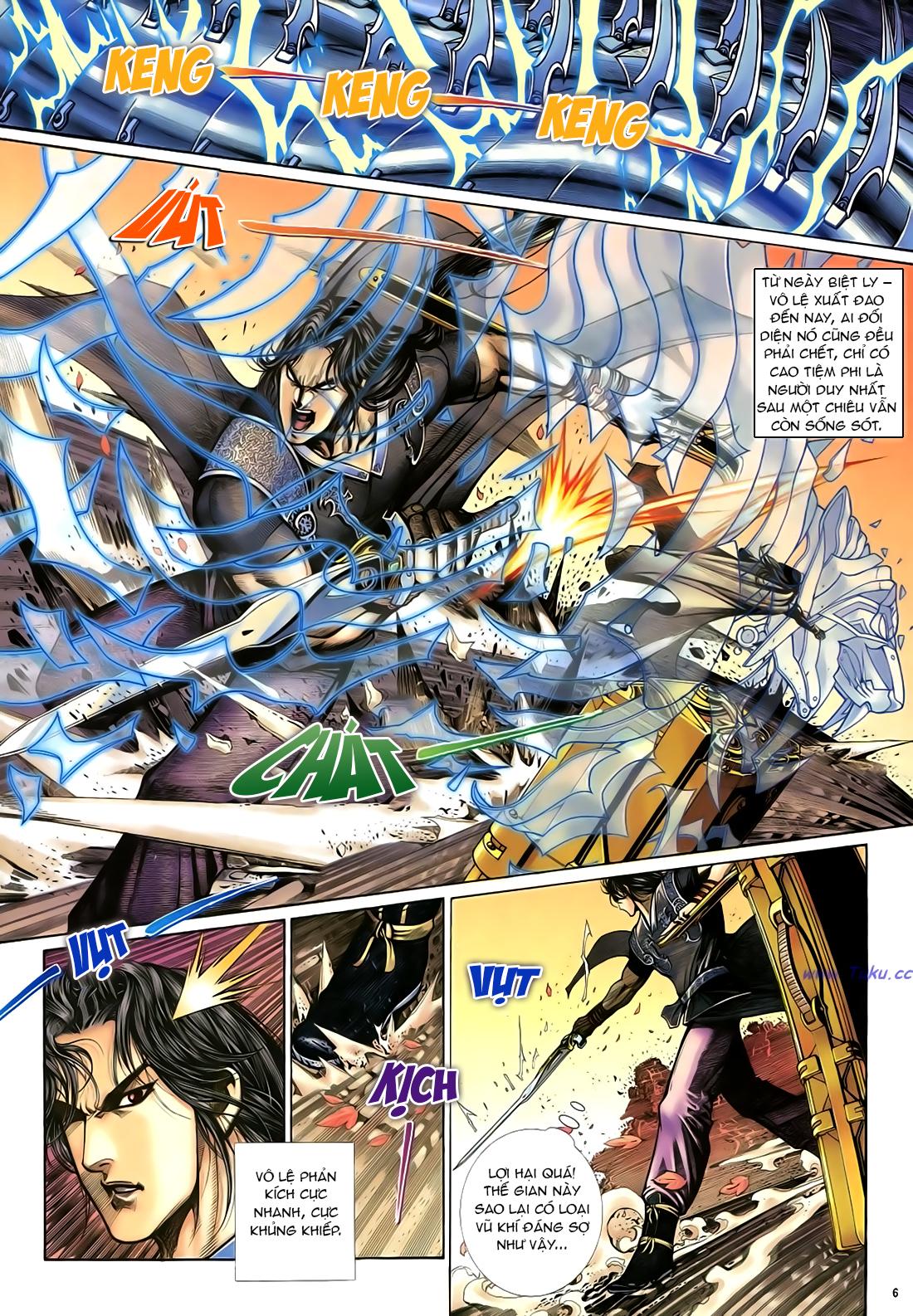 Anh hùng vô lệ Chap 21 trang 7