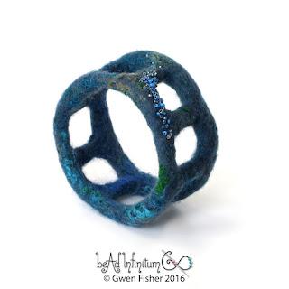 Wool Felt Bracelet