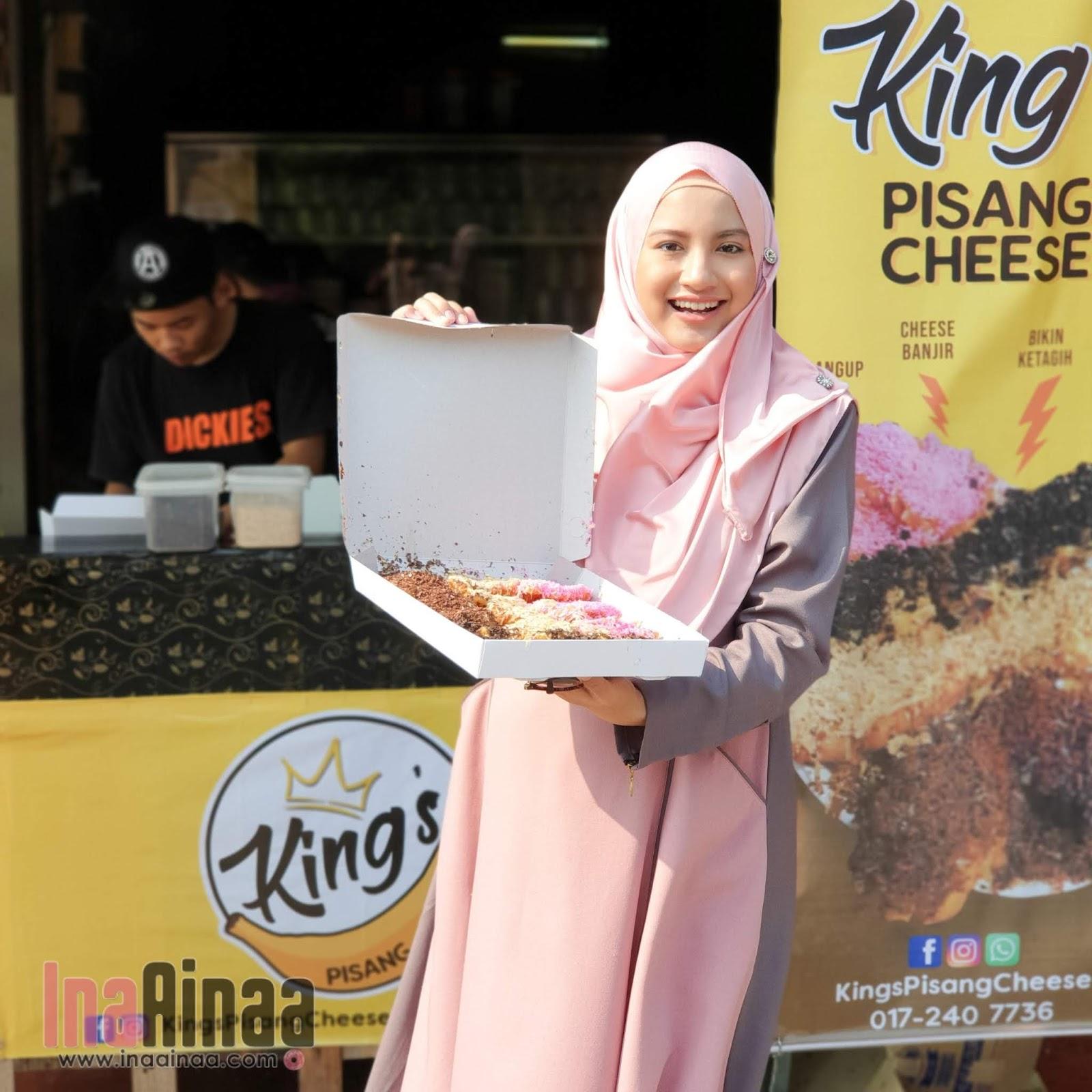 KING'S PISANG CHEESE BANTING - Hak Milik Ina Ainaa