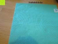 Fußabdrücke: Yogamatte »Annapurna Comfort« / Die ideale Übungs-Matte für Yoga, Pilates, Gymnastik. Maße: 183 x 61 x 0,5cm / In vielen Trend-Farben erhältlich.