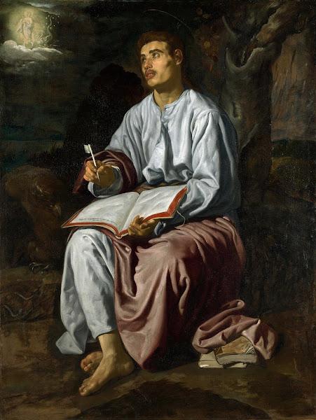 Диего Веласкес - Св.Иоанн Евангелист на Патмосе (разутый монах-кармелит из Севильи) (ок.1618)