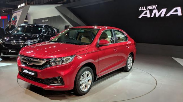Auto Expo 2018: Honda launches next generation Amaze, CR-V, and Civic
