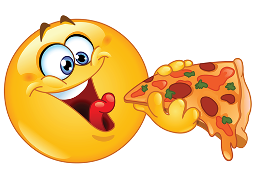 Pizza smiley