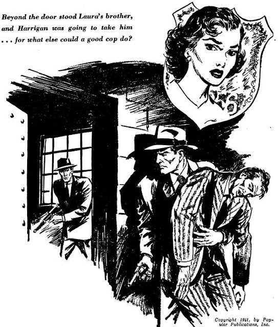 Dime Detective August 1952 - My Night to Kill  - Dane Gregory
