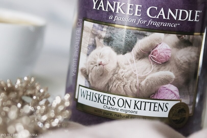 whiskers on kittens yankee candle etykieta