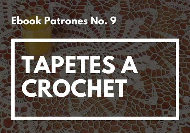 Ebook No. 9 Tapetes a Crochet