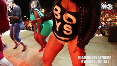 Diamond Platnumz - Live performance at Rwanda/kigali