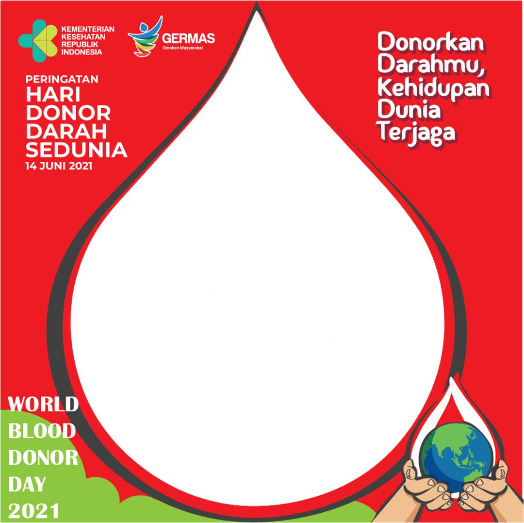 Link Bingkai Twibbon Peringatan Hari Donor Darah Sedunia 2021 - Kementerian Kesehatan RI (Kemenkes RI)
