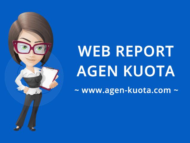 Fasilitas Web Report Member Area Agen-Kuota.com