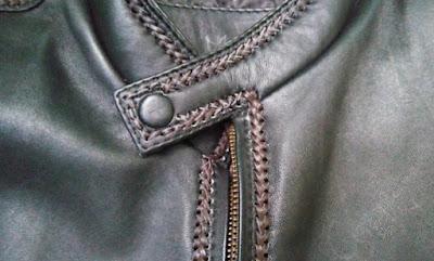gambar pola rajutan jaket kulit