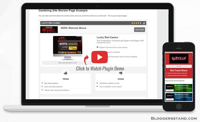 Best Casino & Gaming Affiliates WordPress Plugin