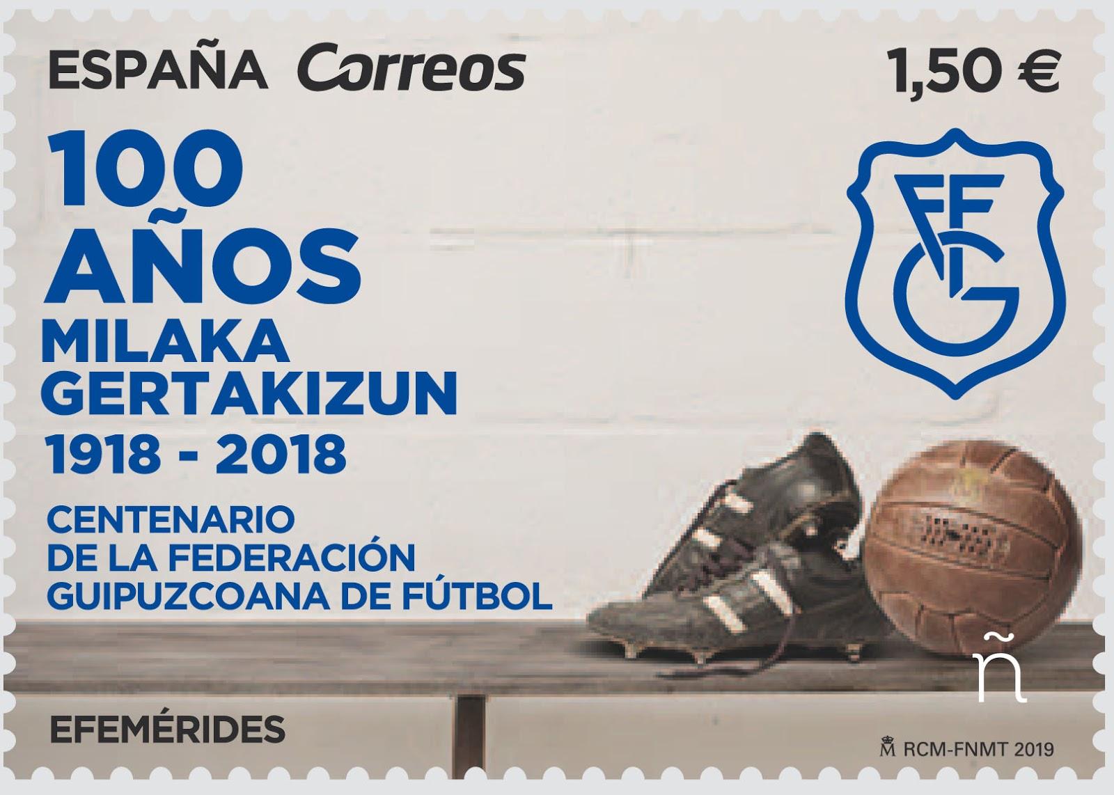 Centenario Federación Guipuzcoana de Fútbol