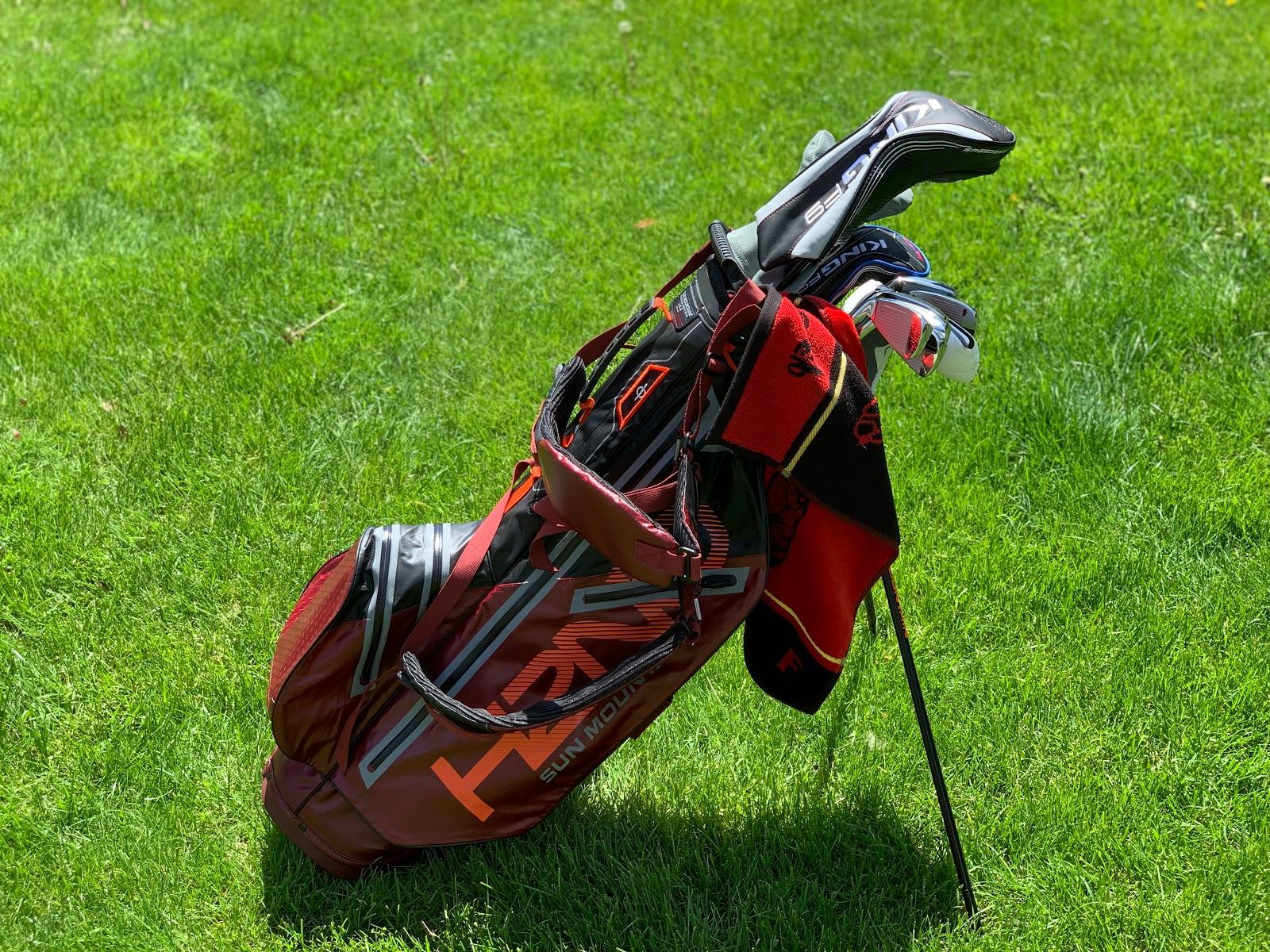 The 1 Writer In Golf 2019 Sun Mountain H2no Lite Bag
