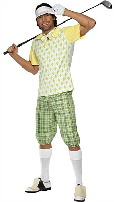 Men's Funny Golf Outfit