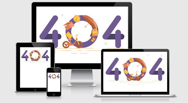 Share TEMPLATE 404 cho anh em đặt lúc bảo trì blog PART II