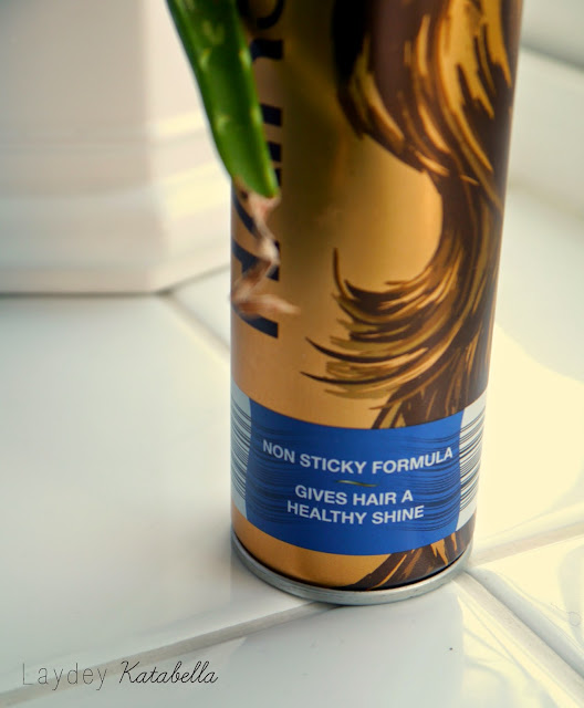photo of aldi carino hairspray