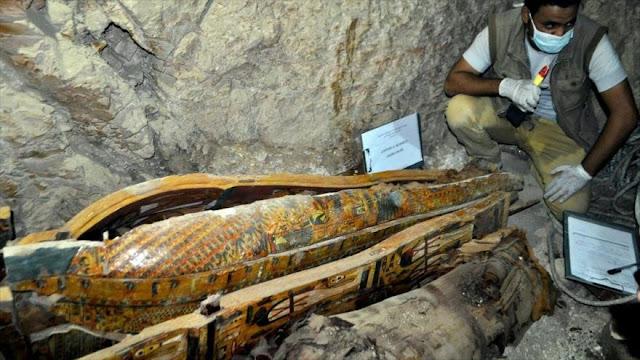 Descubren una tumba del período Ramésida de 3000 años en Egipto