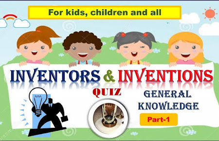 Inventors and Their Inventions Quiz