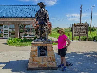 Eastward, Ho!  Day 2 - Fort Wallace Memorial Museum