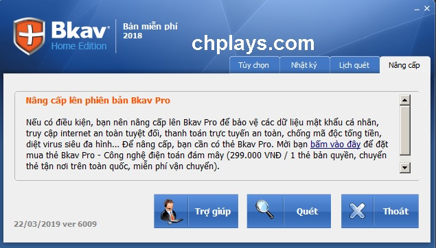 Tải Bkav Home Plus, Pro diệt virus miễn phí về máy tính c