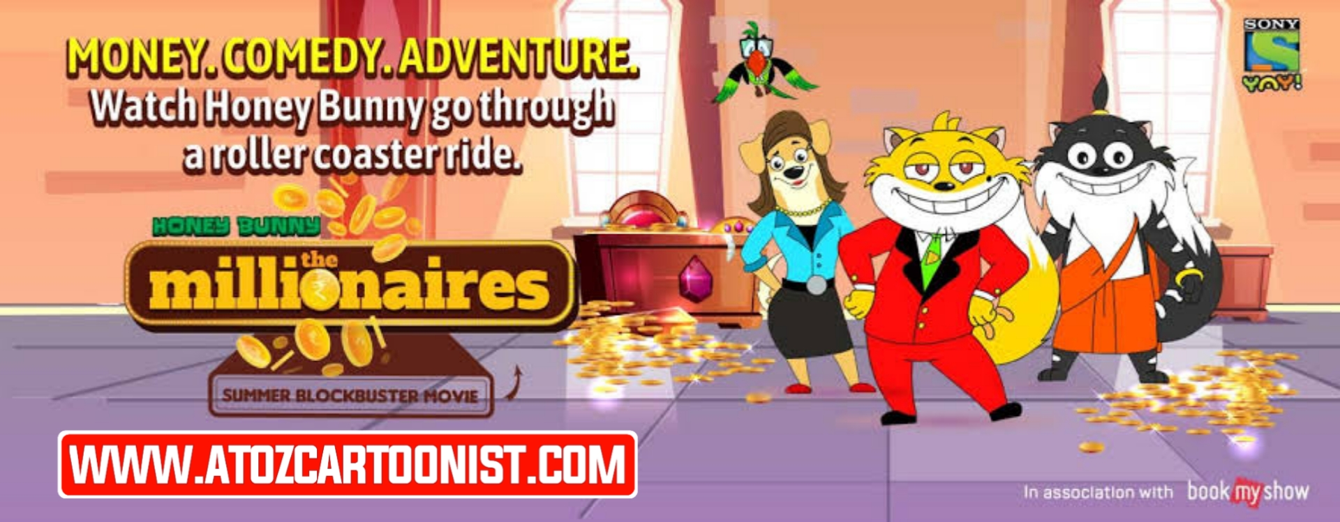 HONEY BUNNY THE MILLIONAIRES FULL MOVIE IN HINDI DOWNLOAD (480P HQ)