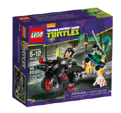 Teenage Mutant Ninja Turtles Bike Karai Spring 2014