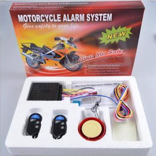 Bisa mengamankan motor agar aman dari maling