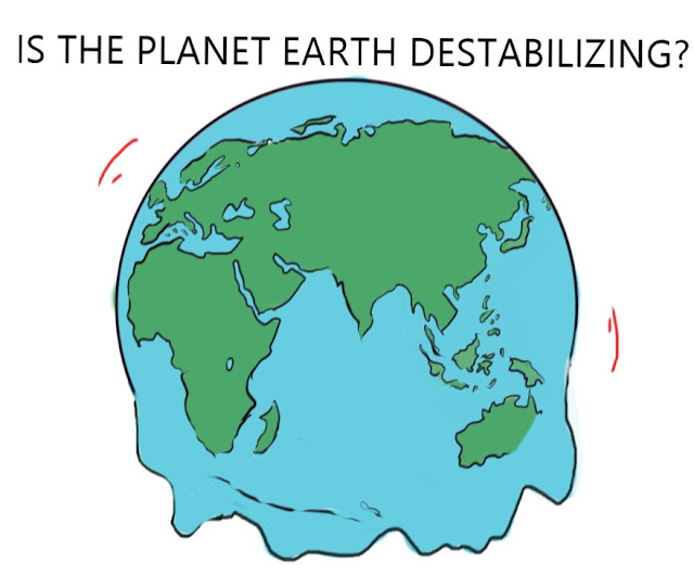 Is the Planet Earth destabilizing?