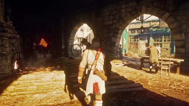 Assassin's Creed Unity Ray Tracing RTGI Real Life Graphics Mod