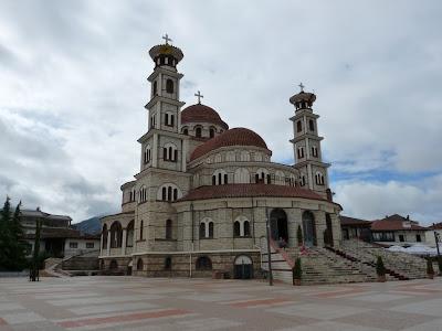 Mezquita Mirahorit en Korca, Albania