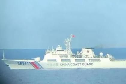 Cerita Nelayan Indonesia Diusir Kapal Coast Guard China di Laut Natuna