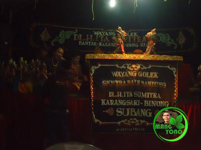 Vidio Wayang Golek Dalang H. Ita Sumitra, Binong, Subang
