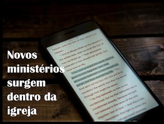 ministérios digitais na igreja