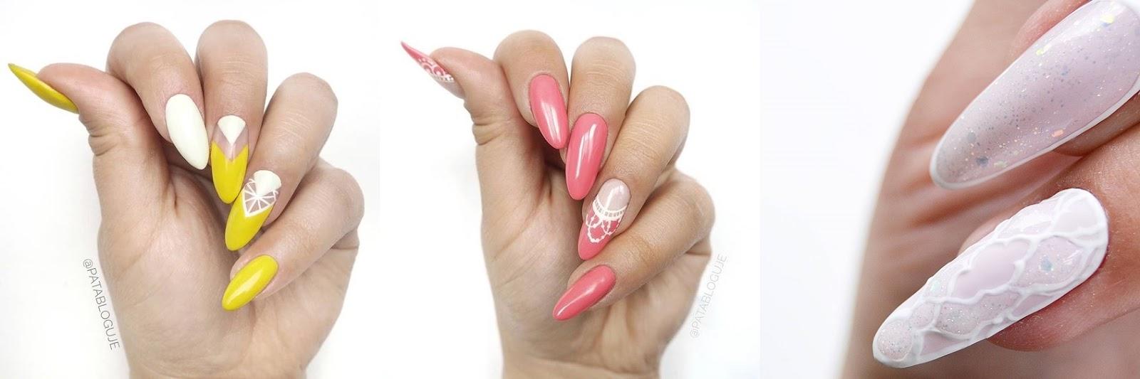 preźroczyste paznokcie