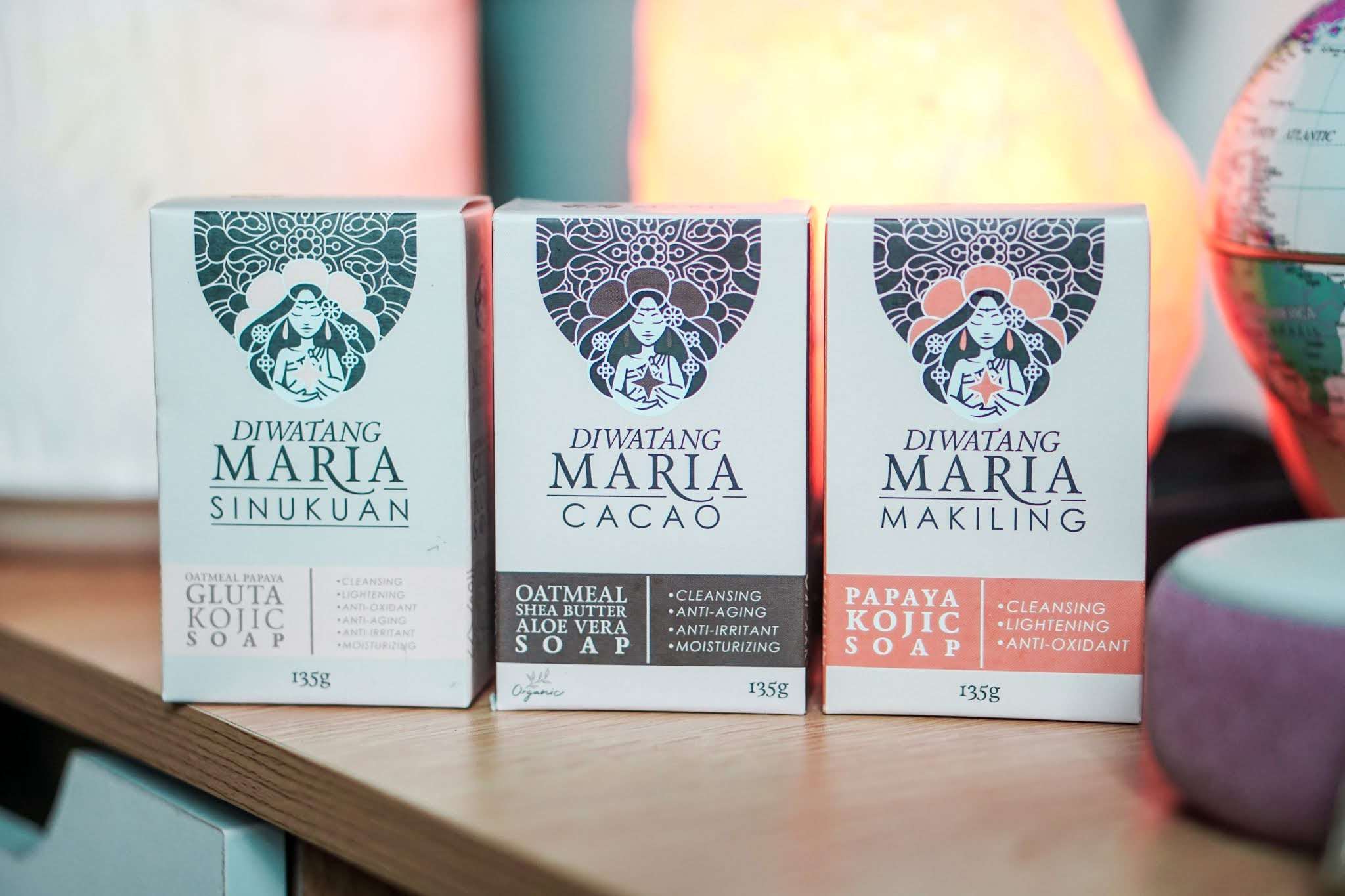 Diwatang Maria Soaps for a healthy-looking skin, organically.