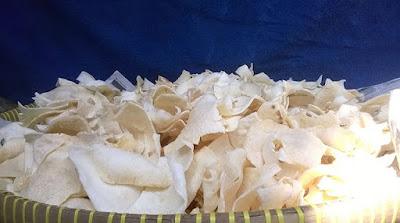 Crispy Gadung chips recipe