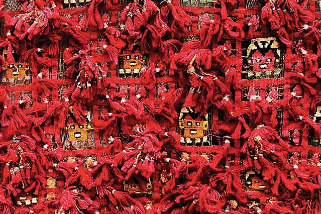 tecido vermelho