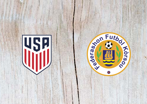 United States vs Curaçao - Highlights 01July 2019