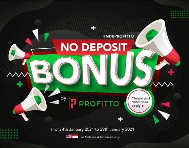 Bonus Forex Tanpa Deposit Profitto $30
