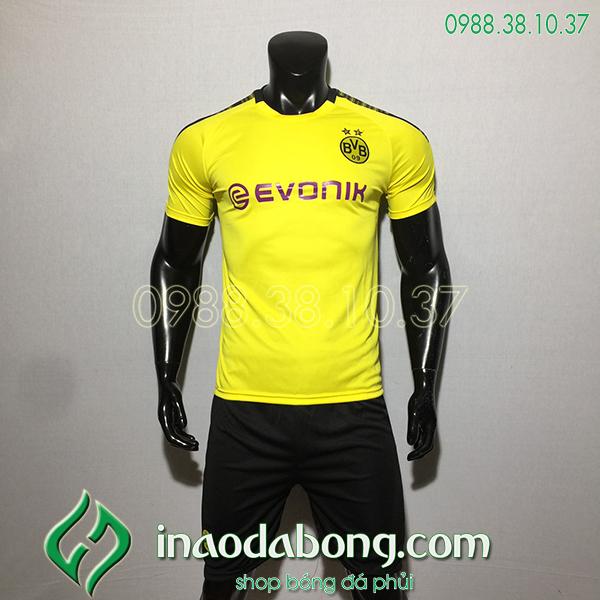 Áo bóng đá câu lạc bộ Dortmund vàng 2020