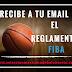 El Reglamento FIBA a tu email