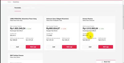 """Reksadana Di Topik Pembahasan Sebelumnya Kita Telah Mengetahui apa Itu Pengertian Reksadana dan Tujuanya Untuk Kesempatan ini saya akan menjelaskan tentang cara menghitung keuntungan dan kerugian dari pembelian reksadana.    Dalam Tahap awal untuk mengetahui menghitung Keuntungan dan Kerugian Dari Pembelian Reksadana Saya akan kasih tiga contoh:   yaitu kalau kita belinya di bank dari sekuritas, dan dari website jual beli online atau e-commerce Lalu saya juga akan kasih liat satu app yang bisa membantu kita memantau keuntungan dan kerugian kita secara otomatis.   pertama-tama kita harus mengerti dulu ketika kita beli sebuah reksadana sebetulnya """"barangnya"""" dalam tanda kutip yang berpindah tangan itu apa sih, atau apa sih yang kita terima saat kita beli reksadana?   Jadi yang kita dapatkan adalah namanya unit Saya ilustrasikan kalau beli reksadana dengan 1 juta rupiah Saat kita beli, harga per unitnya atau harga 1 unit misalnya 1.250 rupiah Kita beli 1 juta, berarti jumlah unit yang kita dapatkan adalah 1 juta dibagi dengan 1.250 totalnya yaitu 800 unit.   Jumlah 800 unit tersebut nya akan dicatat oleh bank custodian, dan dicatat oleh tempat kita membeli reksadana Jadi ceritanya saat ini kita sudah punya 800 unit.Untuk berikutnya jumlah unit kita akan tetap sama tapi yang akan bergerak adalah harga per unit nya atau disebut NAB/UP   Harga per unit atau NAB/UP ini dihitung dengan menjumlahkan seluruh dana yang dikelola oleh manager investasi dibagi dengan jumlah unit yang sedang beredar.   Berarti harga per unit akan naik apabila nilai dari dana yang dikelola naik dengan segala kegiatan investasi yang dilakukan oleh manager investasi.   Misalnya bulan depan harga per unit nya naik dari 1.250 menjadi 1.500 Berarti 800 unit kita nilainya berubah, dihitungnya dengan cara 800 dikali dengan 1.500 yaitu nilainya menjadi 1,2 juta   Berapa keuntungannya? Keuntungan dihitung dari uang yang kita keluarkan pertama kali, yaitu 1 juta tadi diselisihkan dengan harga saat ini yaitu """