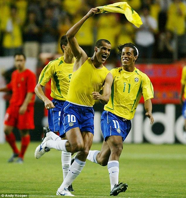 19c4218f6359 Mizuno Rivaldo Wave Cup 2002 World Cup 2018 Remake Boots ...