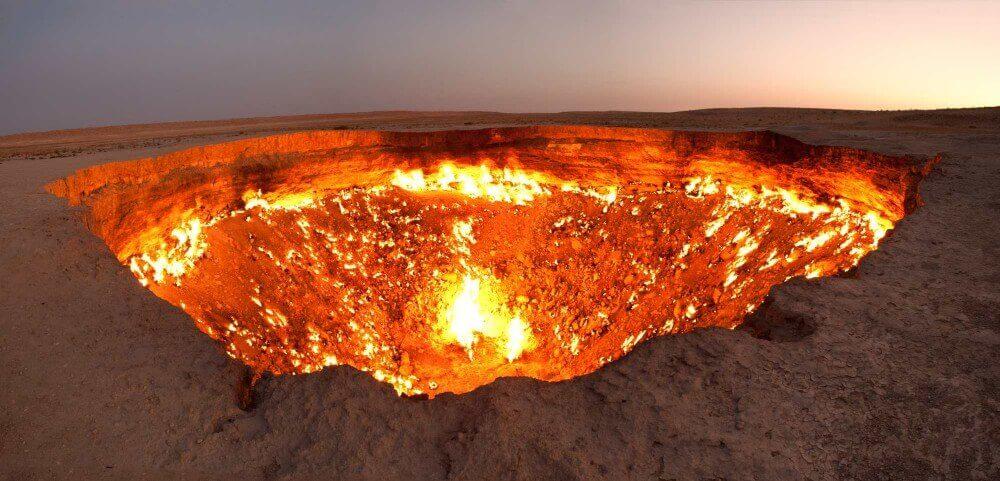 Cehennem Kapısı Türkmenistan