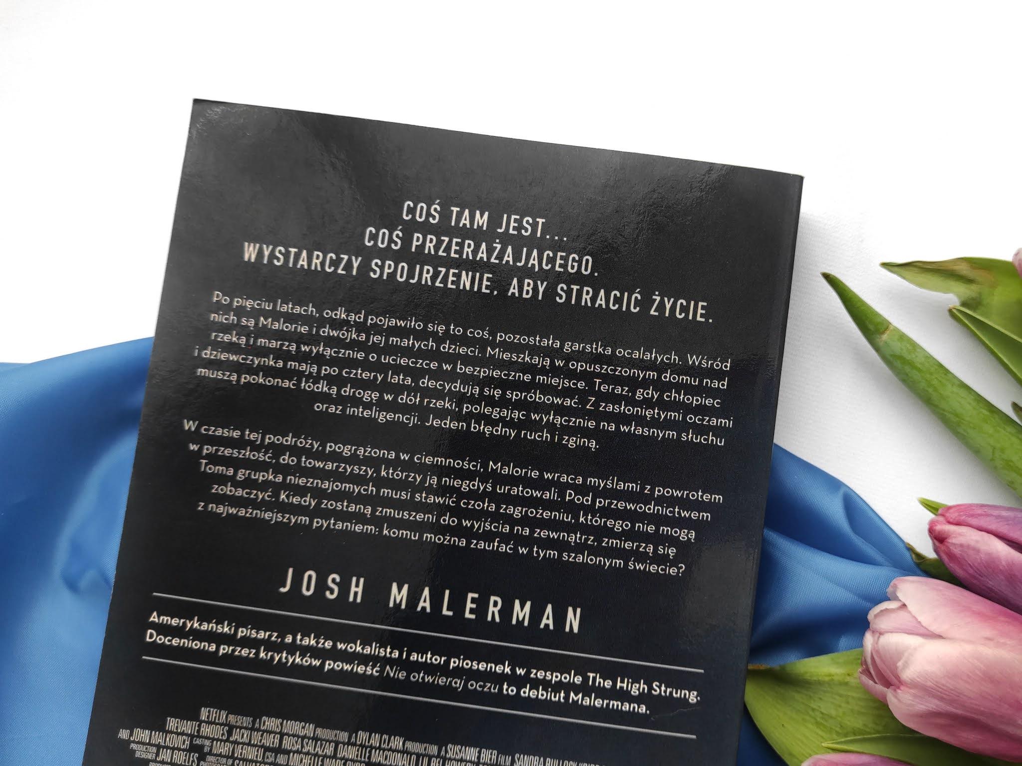 Nie otwieraj oczu Josh Malerman