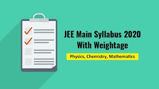 Weightage of chapters in JEE Main JEE RSS Feed JEE RSS FEED : PHOTO / CONTENTS  FROM  ACE-JEE.BLOGSPOT.COM #EDUCATION #EDUCRATSWEB