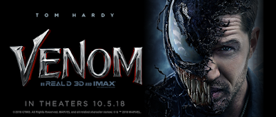 Marvel's Venom Teaser One Sheet Movie Poster