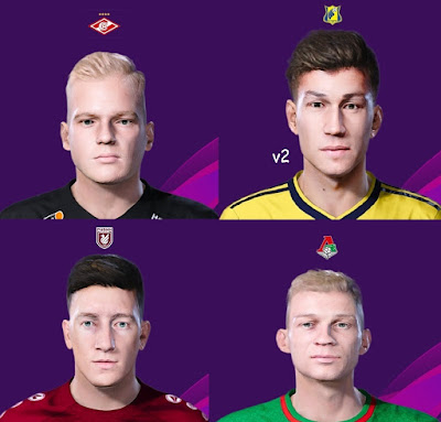 PES 2020 Facepack 8 by Korneev