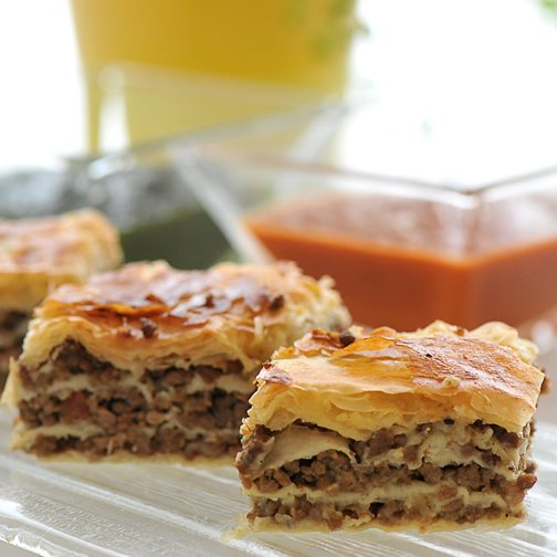 Ground Beef Phyllo Recipe: Natalia's Sweet Food: Filo Pastry With Minced Beef