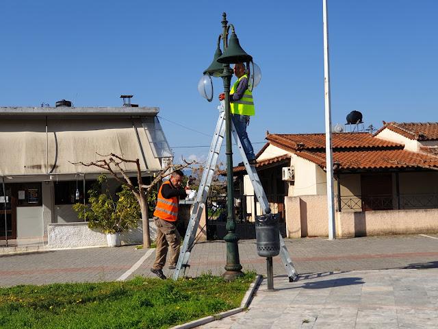 Δεν σταματούν να εργάζονται τα συνεργεία του Δήμου Ναυπλιέων